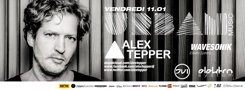 Mais qui est Alex Tepper ? Urban Music @ DV1 le 11 janvier 2013